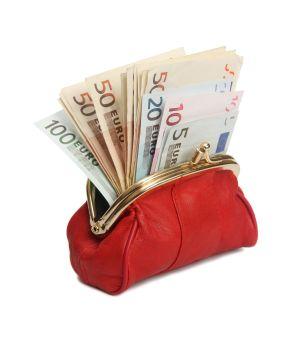 Portmonee mit Geld