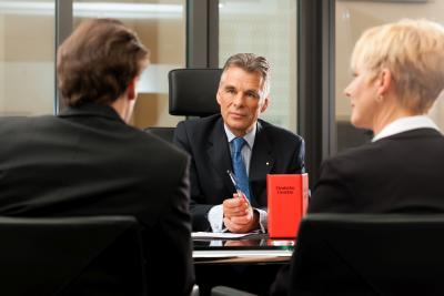 Gespräch mit Anwalt durch DEVK Rechtsschutz